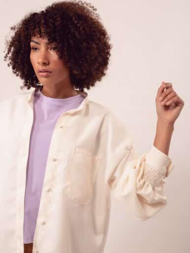 Camisa Magnolia – Crudo