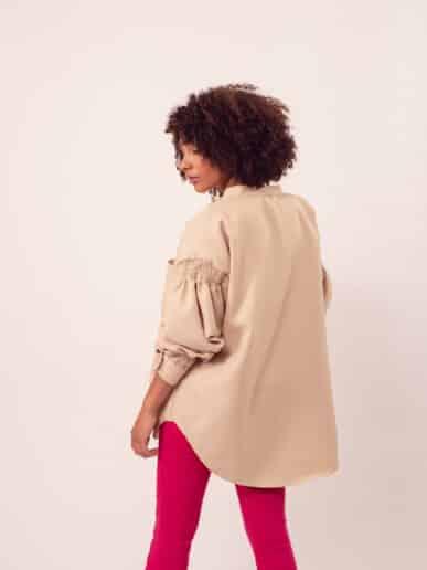 Camisa Magnolia – Beige