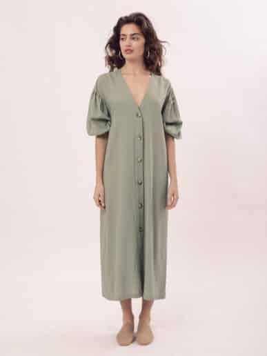 Vestido Alhelí – Verde