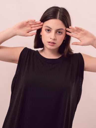 Vestido Azalea – Negro