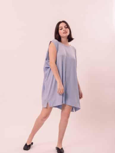 Vestido Azalea – Celeste