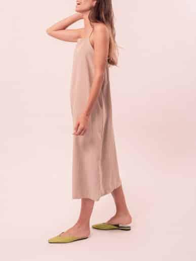 Vestido Clavel – Beige