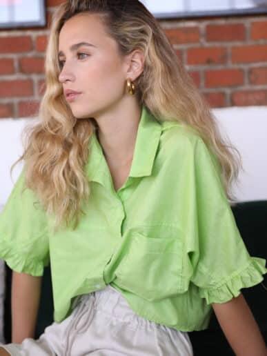 Camisa Gardenia – Verde