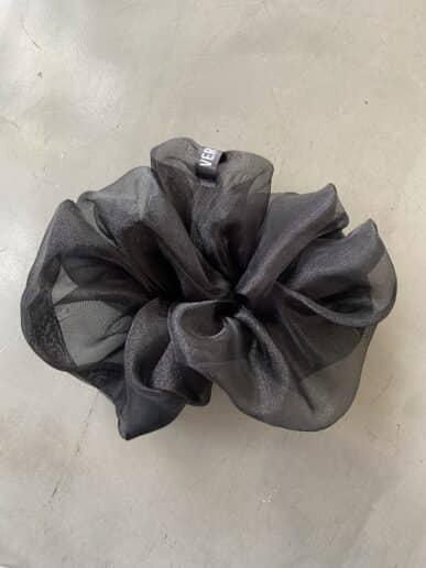 Scrunchie VERMUT – Negro