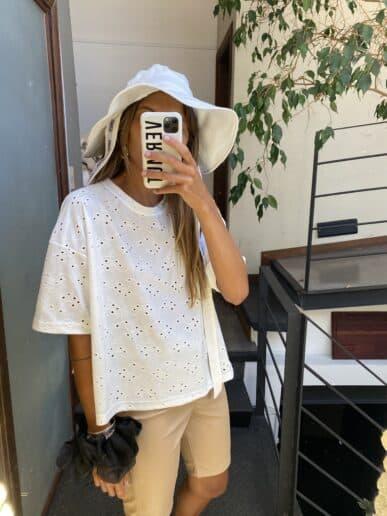 Básica Camelia corta – Blanco