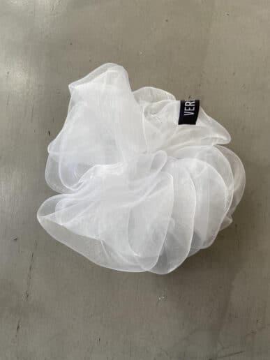 Scrunchie VERMUT – Blanco