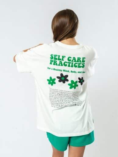T-shirt Self – Crudo